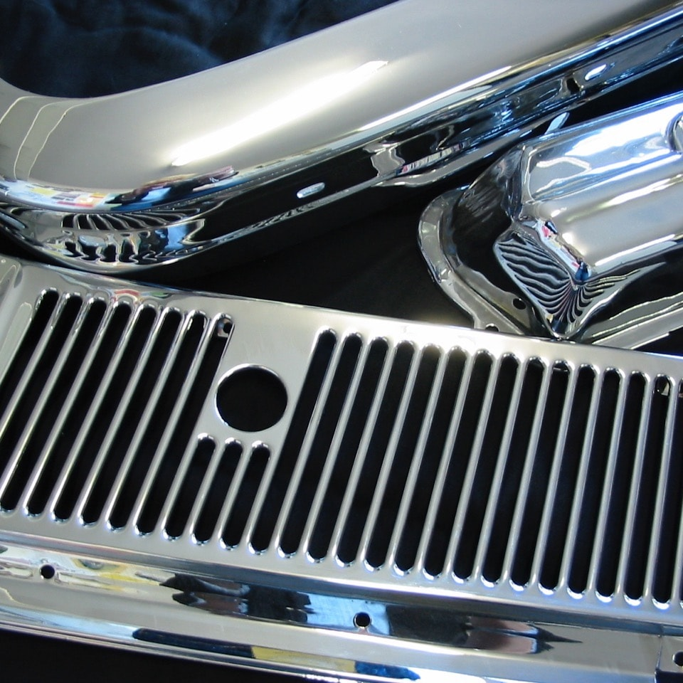 Chrome Motorcycle and Car Parts