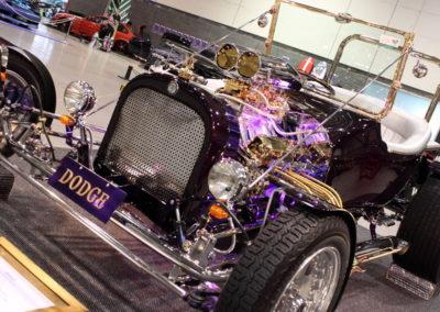 Car restoration rod